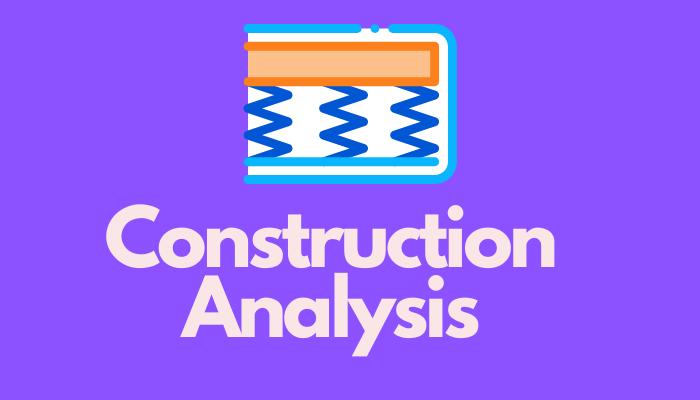 Construction analysis of Ashley Chime Hybrid Mattress